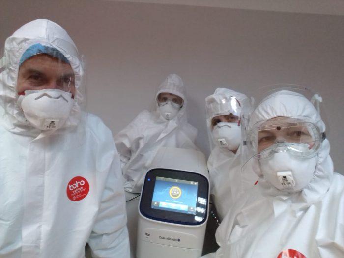 Laborator de biologie moleculară pentru diagnosticarea COVID-19 la Spitalul Judeţean Suceava