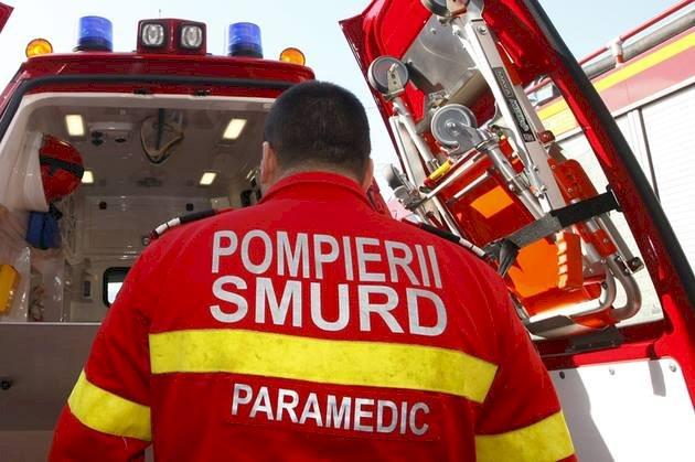 Un bărbat a încercat să își dea foc pe o stradă din Câmpulung după ce l-a anunțat soția că îl părăsește