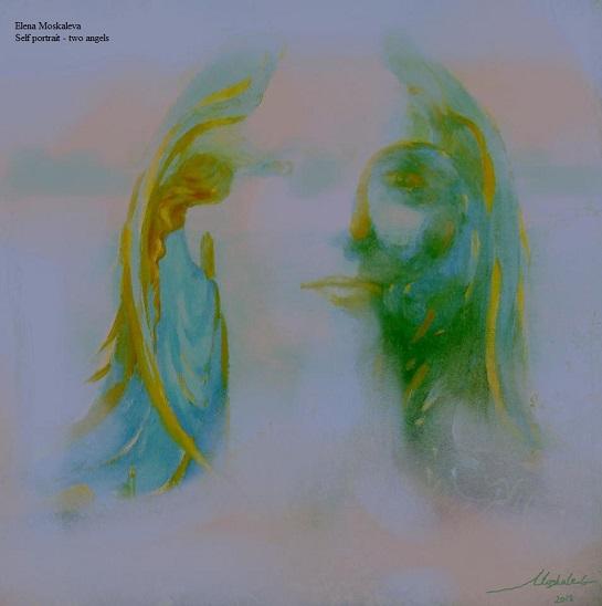 Self-Portrait -Two Angels