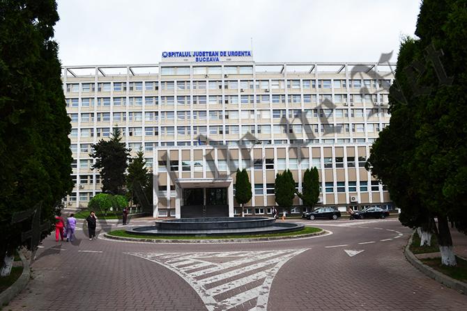 Spitalul Judetean Suceava vedere parcare 2016
