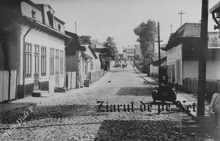UN ORAȘ, DOUĂ SECOLE (124): Strada Dogari din vechiul Fălticeni