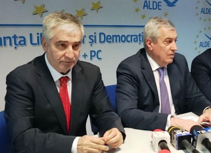 """Tăriceanu și Dragnea, criticați de fostul președinte executiv ALDE. Vasile Nistor: """"Tăriceanu-Dragnea, co-președinți ai Statului Paralel"""""""