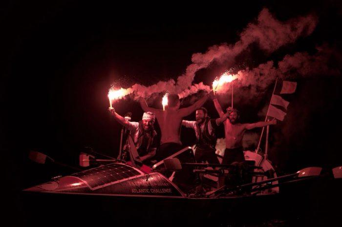 Fălticeneanul Vasile Oșean a traversat Oceanul Atlantic într-o barcă cu vâsle, alături de colegii săi din Atlantic4!