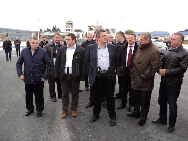 Vizita Iulian Matache ministrul transporturilor la Suceava 10.10 (1)