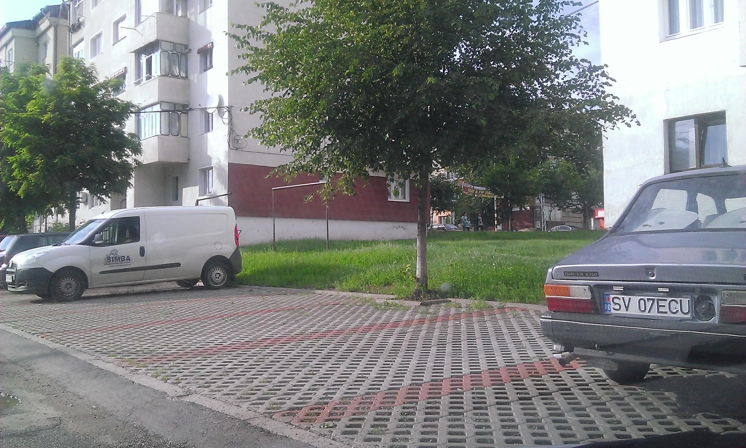Tarif indexat pentru locurile de parcare din Fălticeni
