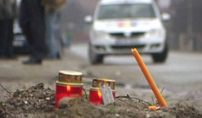 Un șofer băut și fără permis din Păltinoasa a accident mortal o bătrână care traversa regulamentar DN 17.Autorul a fugit de la locul accidentului