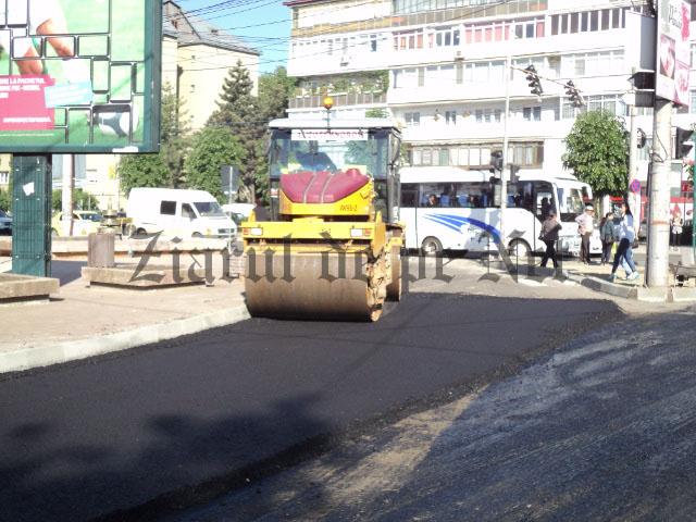 Asfaltările de străzi, cele mai multe proiecte online solicitate de suceveni