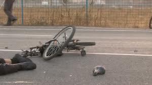 bicicilst accidentat
