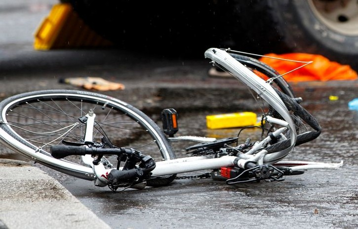 Biciclist accidentat mortal la Fântânele