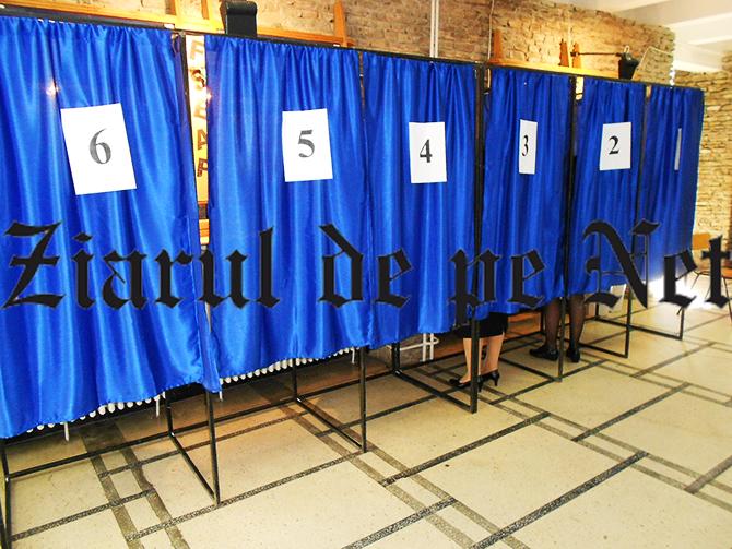 cabine de vot alegeri locale 2016