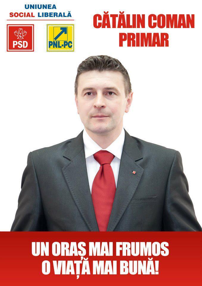 coman afis electoral 2
