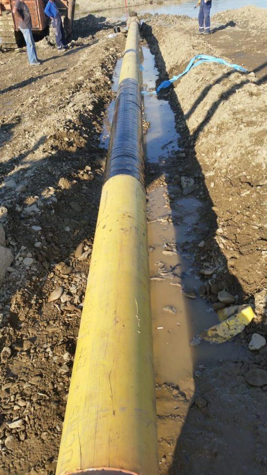 Noua conductă de gaz montată la Milișăuți va fi cuplată astăzi