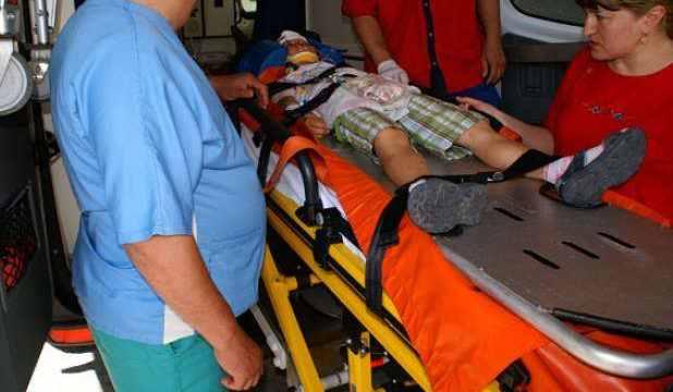 Minor din Dumbrăveni izbit de mașina condusă de o botoșeneancă