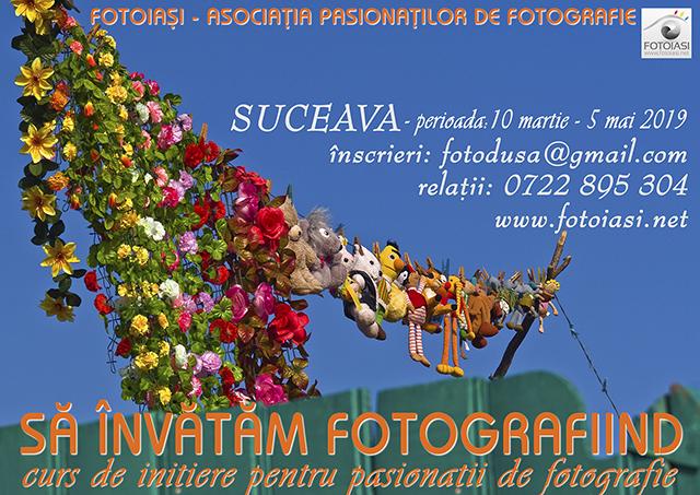 """""""Să învățăm fotografiind"""" – Curs de inițiere pentru pasionații de fotografie din Suceava"""