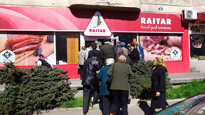 deschidere magazin RAITAR Falticeni 2 Graniceri