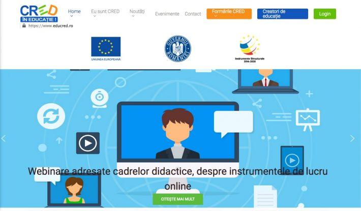 digital.educred.ro– variantă educațională pe perioada stării de urgență