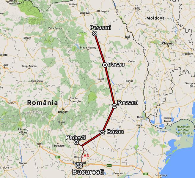 Drumul expres Ploiești – Focșani – Pașcani, doar pe hârtie:licitațiile au fost amânate de 15 ori !