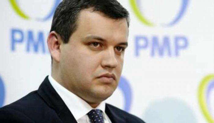 Deputatul Tomac supervizează alegerea lui Andronache în fruntea PMP municipiul Suceava