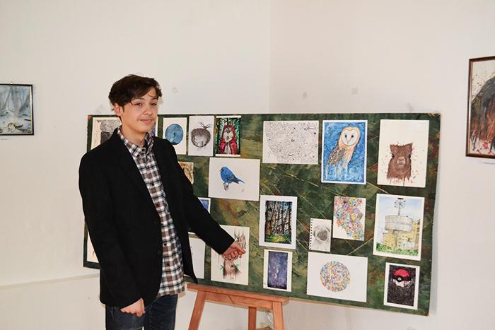 Gabriel Stratulat și picturile – porți deschise spre suflete