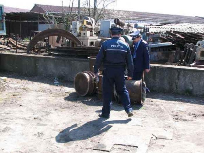 Controale la punctele de colectare a materialelor feroase în județul Suceava