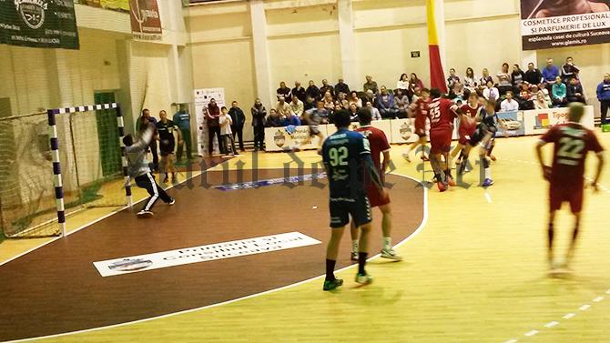CSU Suceava a câștigat un meci amical cu CSM Focșani
