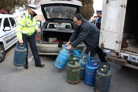 Patru hoți de butelii din Preutești, prinsi de polițiști