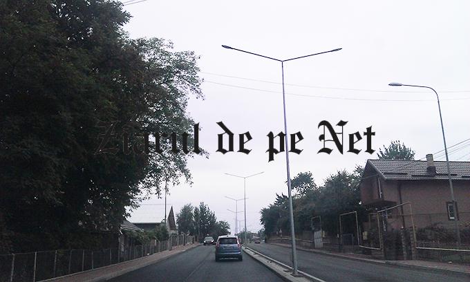 iluminat pe strada Sucevei din Falticeni 10.10.2015