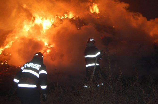 Incendiu la complexul comercial din Broșteni.Au fost afectate un restaurant, un supermarket, un magazin de mobilă și o farmacie