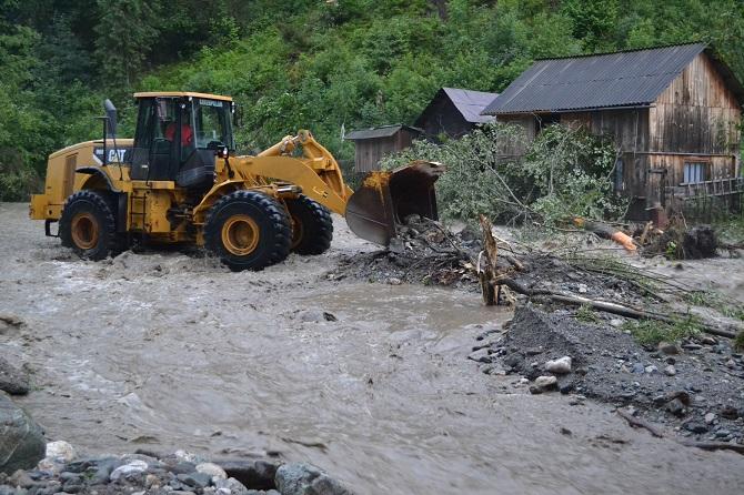 Pagube de peste 6 milioane lei produse de inundații în județul Suceava, în acest an