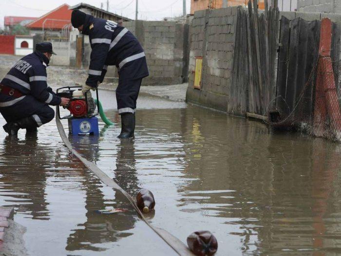 43 de localități sucevene afectate de inundații, în ultimele zile