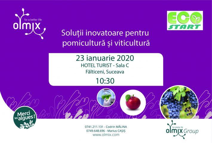 Simpozion de soluții inovatoare pentru pomicultură și viticultură, la Fălticeni