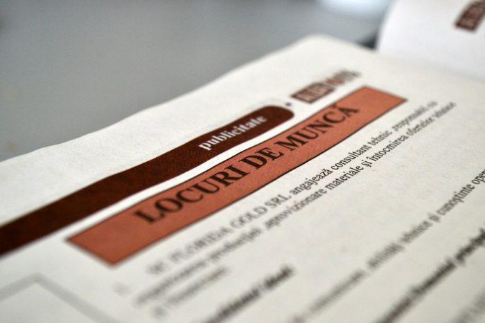 Județul Suceava se menține în coada clasamentului locurilor de muncă vacante