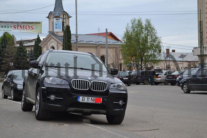 Mașina folosita de Cristian Mihai IORDACHE pentru a transporta tigări la Adjud