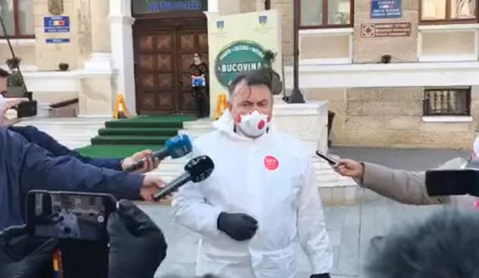 """Criza coronavirus /Ministrul Sănătății la Suceava: """"Vom faceo reevaluare a tuturor recoltărilor și analizelor"""" /""""Fiecare pacient care vine la UPU este suspect din start"""""""