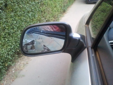 Minoră lovită de oglinda retrovizoare a unui autoturism, la Straja