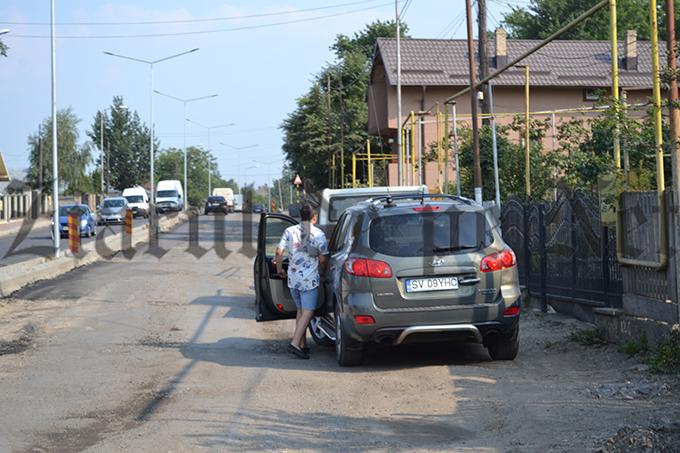 pancarda anti PSD pe strada Sucevei vizita Iohannis 07.07.15(2)