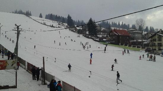 partia de schi Vatra Dornei ianuarie 2015