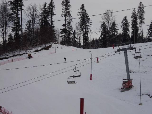 Animație pe pârtiile de schi din județ