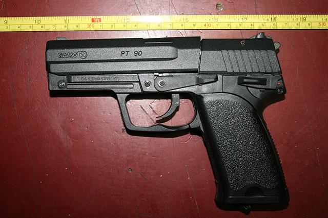 pistol cu aer comprimat