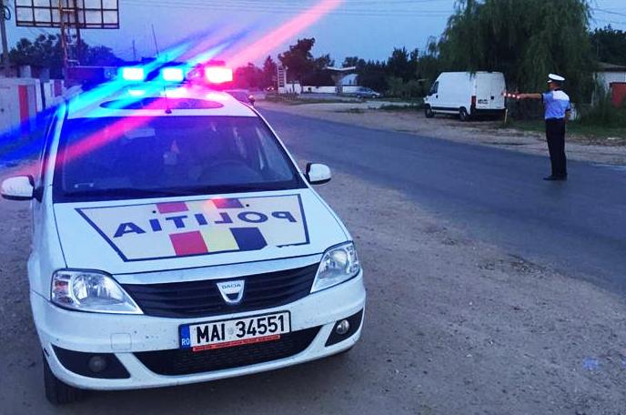 politie masina si agent iulie 2016