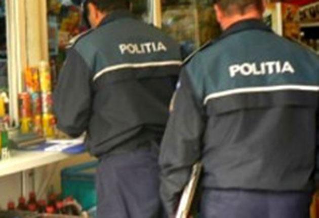 Articole pirotehnice confiscate de polițiști la două magazine din Fălticeni