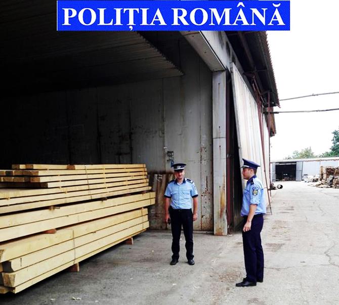 Controale multe, rezultate puține: amenzi de 40.000 lei, 30 mc de lemn și 15.200 kg de rumeguș confiscat