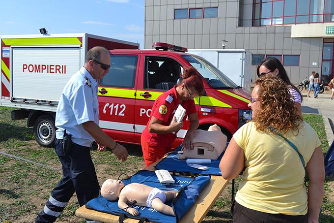 pompieri la Suceava Air Show 28.08.15