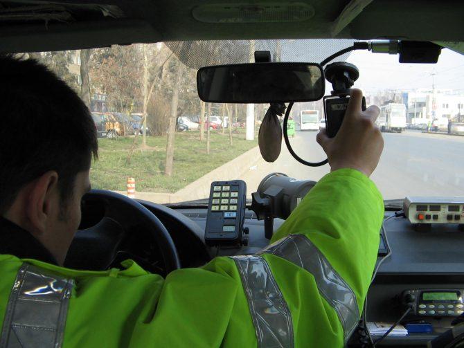 Polițiștii din Suceava și Iași, acțiune comună pentru reducerea vitezei excesivei
