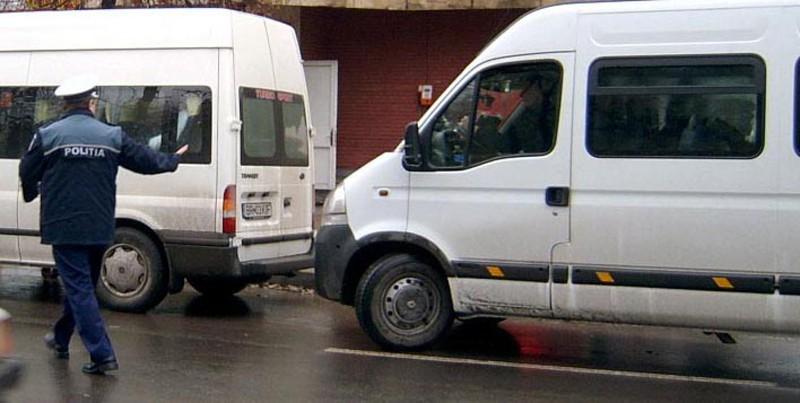Controale în rândul transportatorilor de persoane, în întreg județul