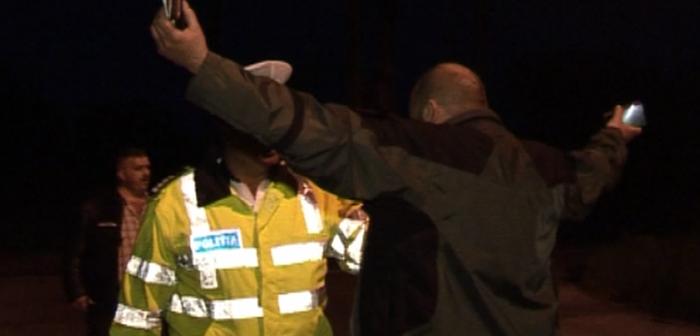 Un șofer băut din Vatra Dornei a încercat să fugă pe jos de polițiștii care l-au oprit