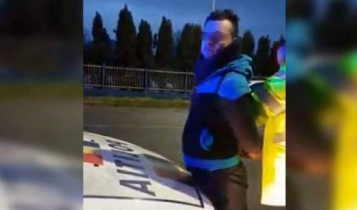 Vasluian fără permis și băutîncarcerat de polițiștii suceveni după ce a provocat o tamponare în lanț la Gura Humorului
