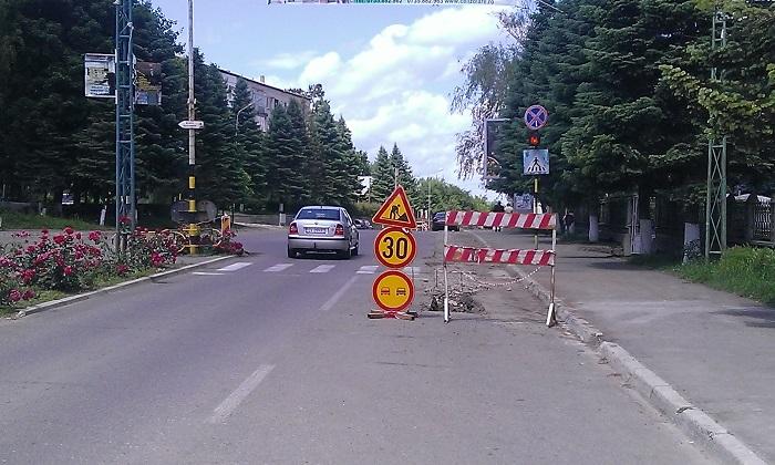 strada Sucevei inaintea deschiderii traficului greu 15.06 (1)