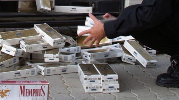 Ucrainean sancționat cu 5.000 lei și interdicție de intrare în România pentru țigări de contrabandă de 1.500 lei