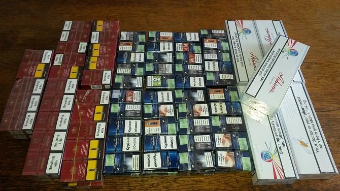 Amendă de 5.000 lei pentru țigări de contrabandă de 600 lei, la Vama Siret